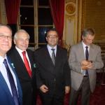 Institut Supérieur Européen du Lobbying - Promotion 2012-2013 - Remise de diplôme par le sénateur Gerard Cesar - ISEL PARIS